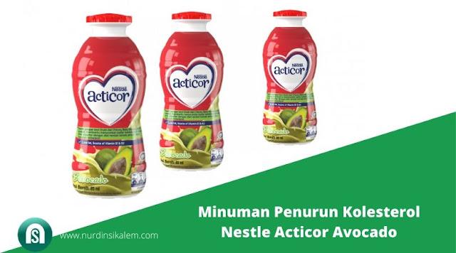 Minuman Penurun Kolesterol Nestle Acticor Avocado