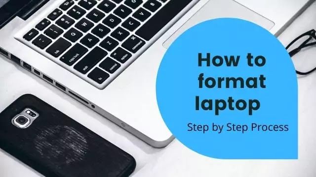 how to format laptop