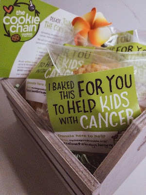 Be a Good Cookie and support Cookies for Kids' Cancer