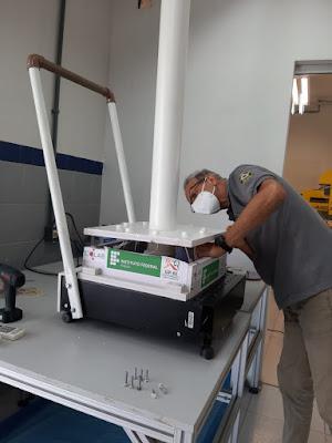 Desenvolvidos pelo Ifal, equipamentos para combate ao coronavírus serão entregues no Hospital do Coração nesta sexta-feira (11/06)