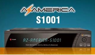 AZAMERICA S1001 HD NOVA ATUALIZAÇÀO V1.09.22942 - 08/07/2021