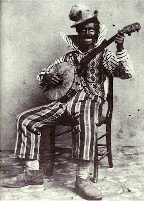 Νέγρος διασκεδαστής minstrel του 19ου αιώνα / Minstrel in the 19th century