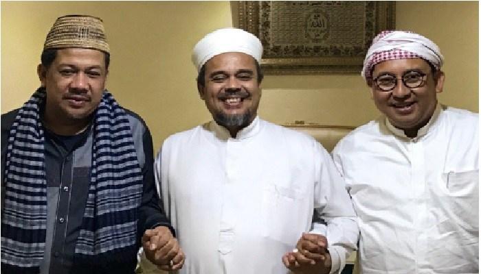 PA 212: Habib Rizieq Shihab Konsisten Perintahkan Untuk Tenggelamkan PDIP