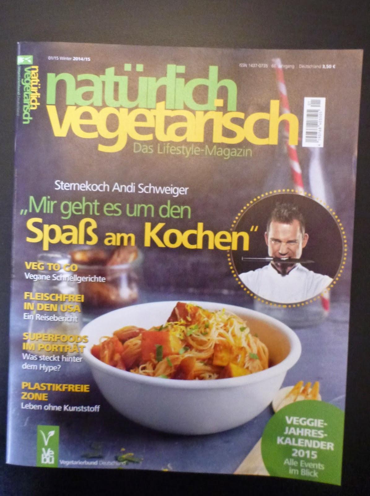 natürlich vegetarisch zeitschrift