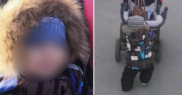 В Серпухове обнаружили 2-летнего мальчика с запиской о просьбе отвезти ребенка в полицию или в детдом!