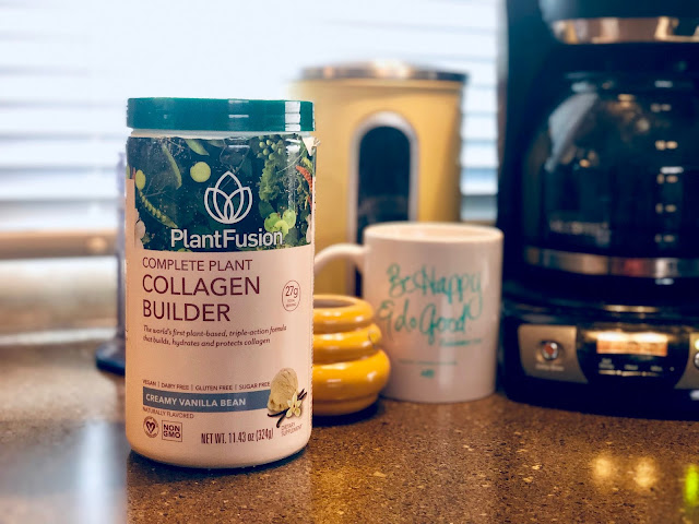 PlantFusion Plant Based Protein Collagen Coffee