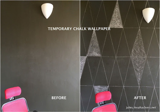 "How about chalk ""wallpaper""?"
