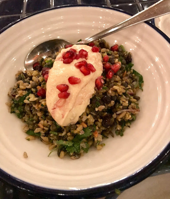 Hellenic Republic, Kew, Cypriot grain salad