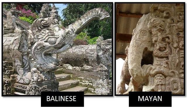 Balineses y Mayas