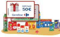 Logo Da Carrefour con Autan, Baygon e Raid vinci 60 buoni spesa da 50 euro