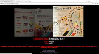 gambar bendera indonesia terbalik