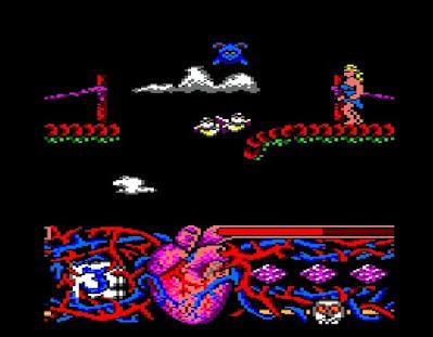 Pantallazo videojuego Hundra - versión Amstrad