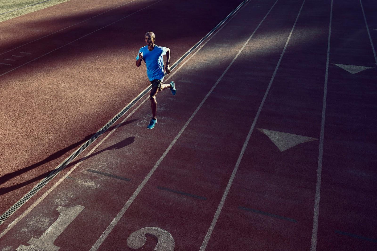 Mo Farah im Nike Free RN Flyknit
