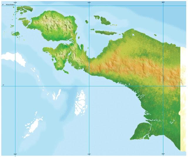 Peta Buta Pulau Papua