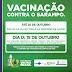 SAJ: Campanha de vacinação contra o Sarampo segue até o dia 25 de outubro