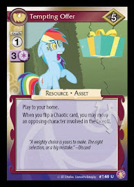 My Little Pony Tempting Offer Absolute Discord CCG Card