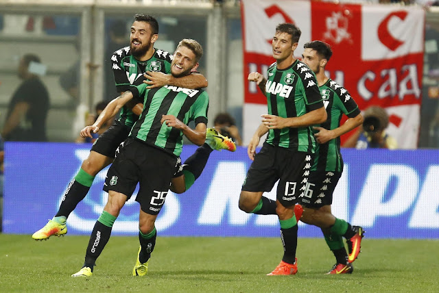 Europa League Red Star Sassuolo 1-1 Highlights 25/08/16