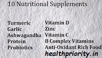Top 10 Nutritional Supplements To Boost Your Immunity