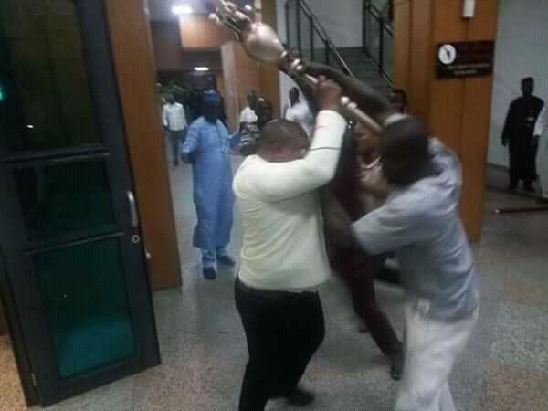PDP Decries Invasion of Senate…Accuses APC, Presidency