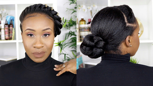 Flat Twist Protective Style | Relaxed Hair | www.Hairliciousinc.com