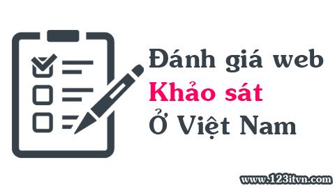 Đánh giá các website khảo sát trực tuyến tại Việt Nam