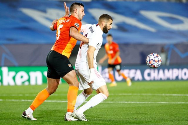 ملخص واهداف مباراة ريال مدريد وشاختار (2-3) دوري ابطال اوروبا