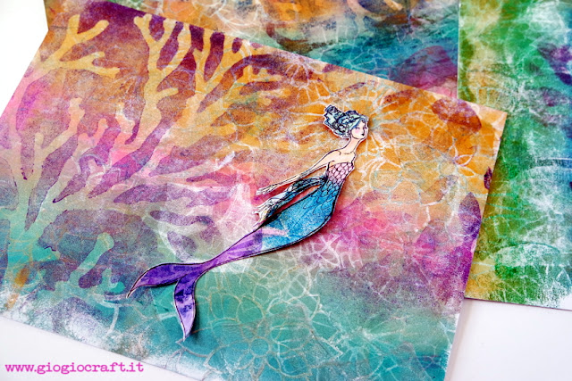 VideoTutorial Under the Sea with GelliArts® and Jane Davenport