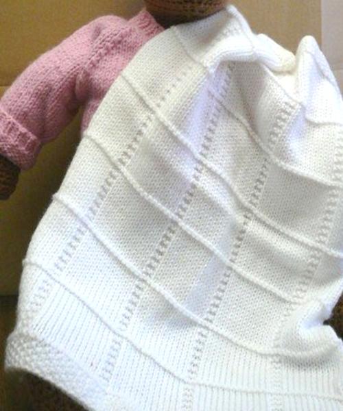 Dreambaby DK Baby Squares Afghan - Free Pattern