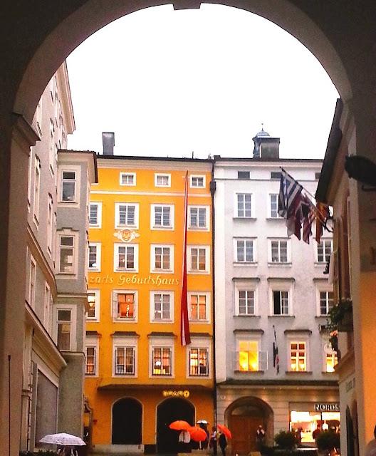 Salzburg - Mozarts födelsehus