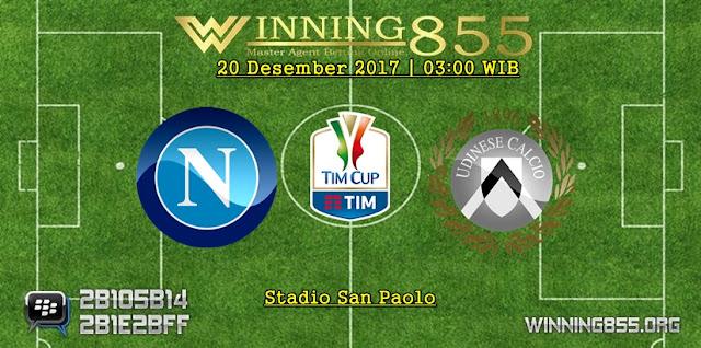Prediksi Akurat Napoli vs Udinese 20 Desember 2017