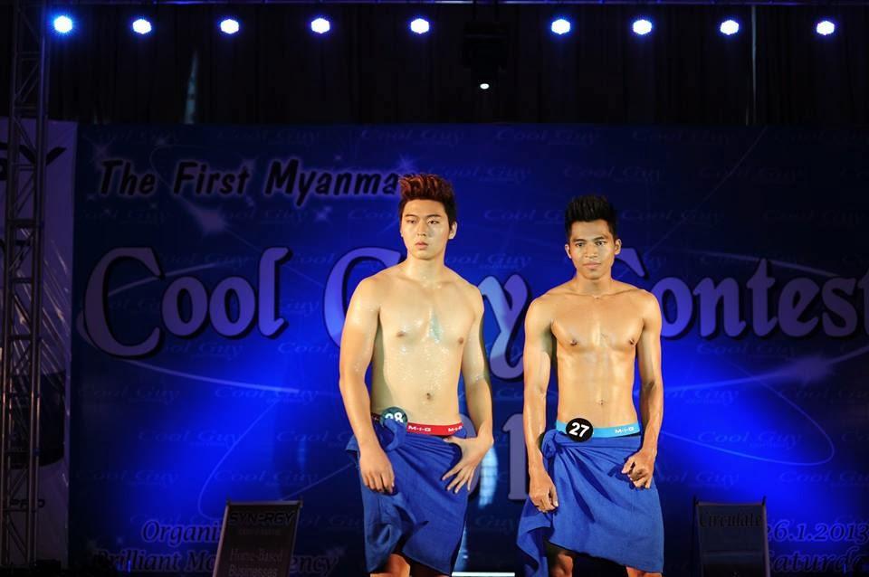 M y a n m a r H u n k s: Myanmar Cool Guy Contest 2013