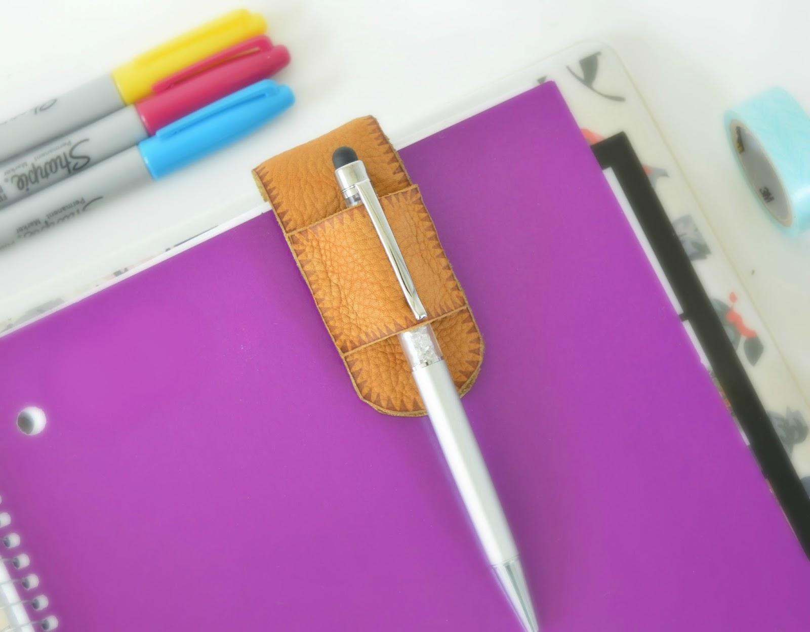 Vikalpah: DIY Magnetic Leather pen holder