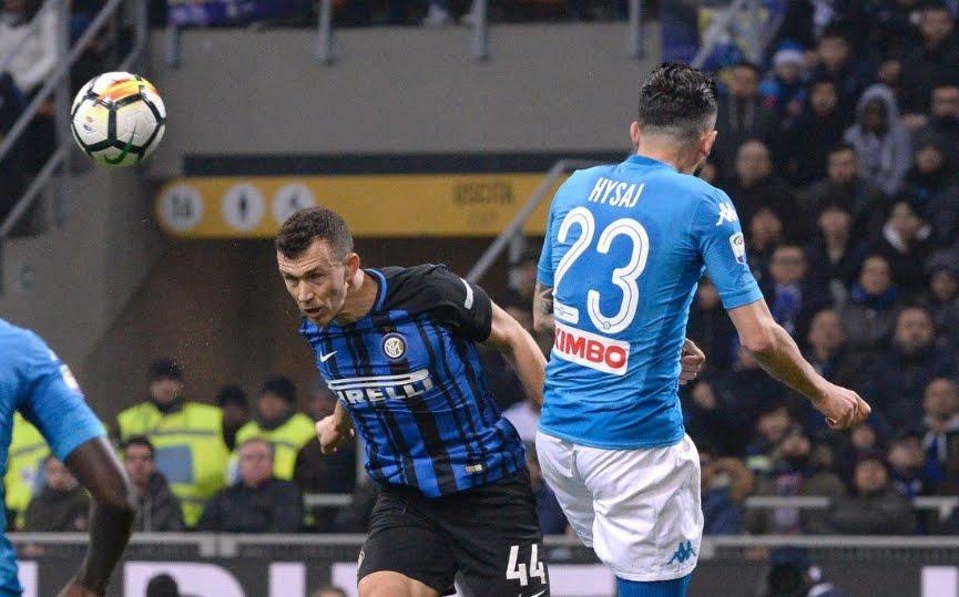 Inter-Napoli è finita 0-0: Bellissimo vedere giocare il Napoli ma la Juventus resta prima in classifica