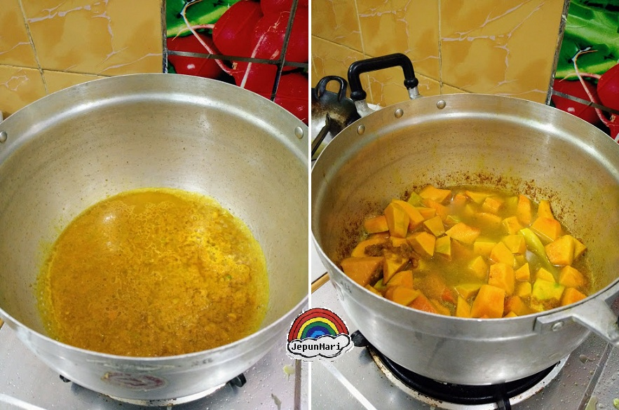 Resepi masak labu lemak kuning