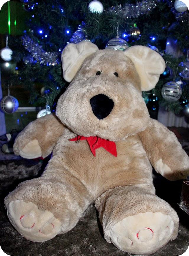 Urso - Decoração e Mesa de Natal em Azul