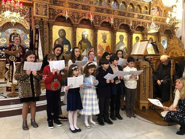 Χριστούγεννα για τους ομογενείς της Ελληνορθόδοξης κοινότητας του Β.Δ. Λονδίνου (βίντεο)