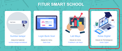 Cara daftar kelas digital di smart school