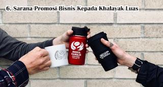 Souvenir Bisa merupakan Sarana Promosi Bisnis Kepada Khalayak Luas