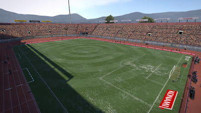 PES 2017 Stadium Stadio Orione by PES Mod Goip
