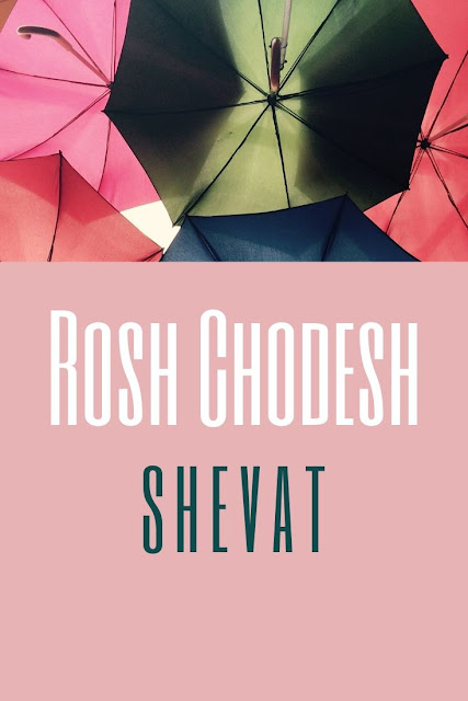 Happy Rosh Chodesh Shevat Greeting Card | 10 Free Modern Cards | New Jewish Eleventh Month