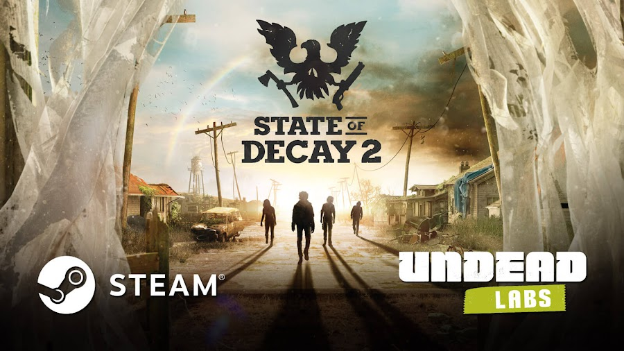 state of decay 2 steam release april 2020 pc platform valve corporation open-world zombie survival game undead labs microsoft studios