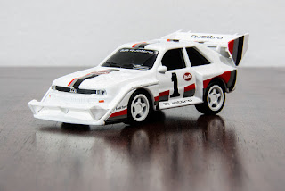 Suntory Coffee Boss Audi Collection: Audi Sport Quattro S1 Pikes Peak