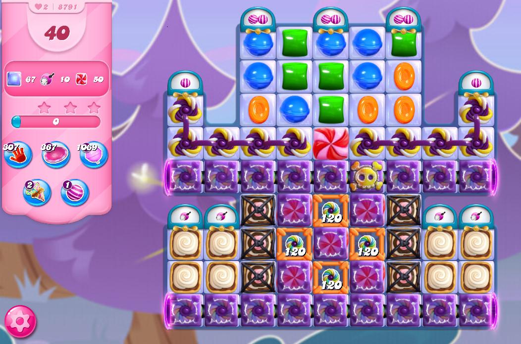 Candy Crush Saga level 8791