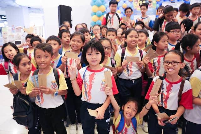 Underprivilaged children at last years' Living Hope Charity Bazaar