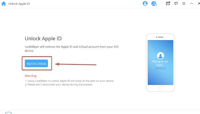 ازالة Apple ID
