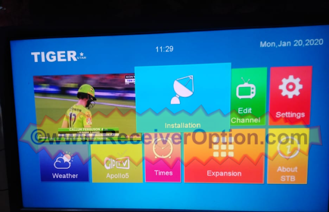 TIGER T8 HIGH CLASS V2 HD RECEIVER OLD V3.64 SOFTWARE WINDOWS 10 THEM