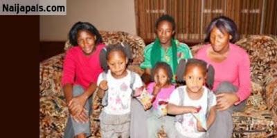 Empat Pria Beristrikan Wanita Kembar Paling Unik di Dunia