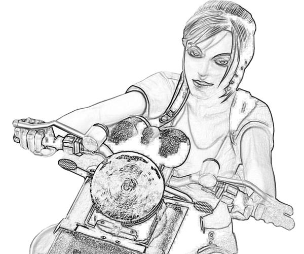 New Tomb Raider Coloring Pages Coloring Pages