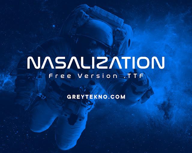 Download Font Nasalization Gratis