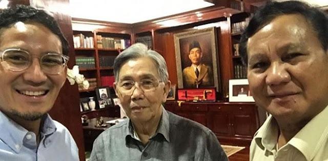 Kwik Kian Gie Beri Masukan untuk Prabowo-Sandi